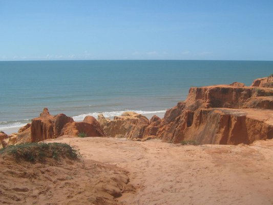 Beach of Morro Branco