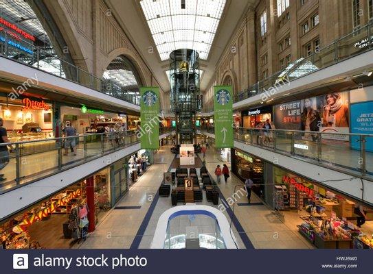 Promenaden Hauptbahnhof Leipzig