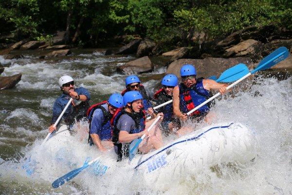 Cherokee Rafting Ocoee River Whitewater