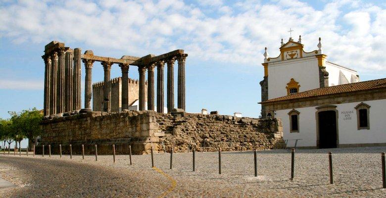 Templo Romano Évora