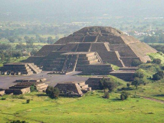 Teotihuacan bike