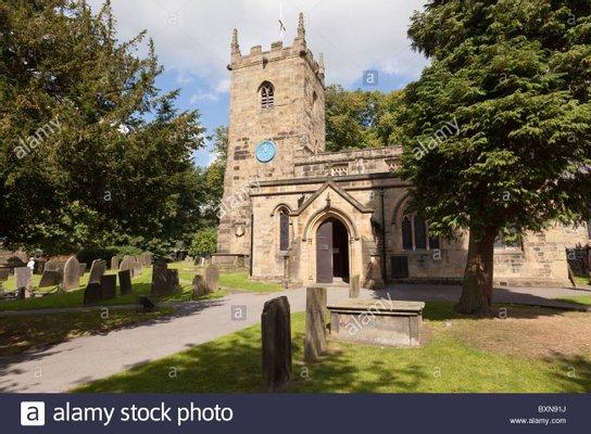Eyam Parish Church (St Lawrence's Church), Eyam