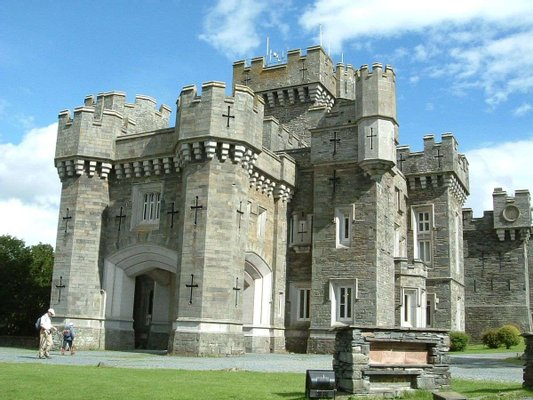National Trust Wray Castle