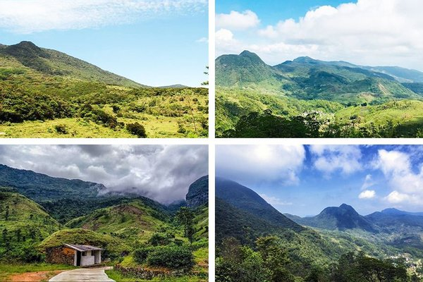Sri Lanka Eco Camping Knuckles Mountain Range