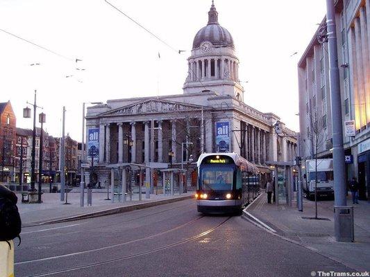 Old Market Square Tram Stop