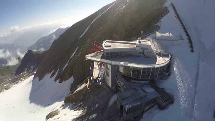 Gipfel Welt 3000, Panorama-Plattform
