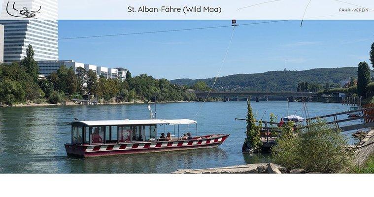 """St. Alban-Fähre """"Wild Maa"""""""