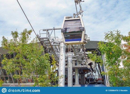 Bursa Cableway - Teferrüç Station