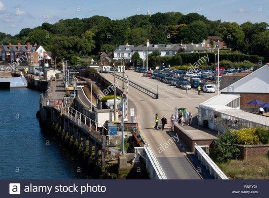 Lymington Car Ferry Terminal