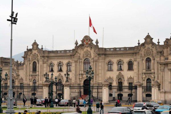 Main Square of Lima