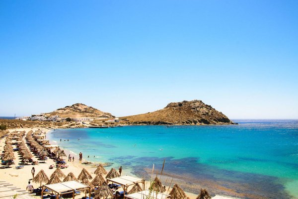 Agia Anna beach , Kalafatis , Mykonos