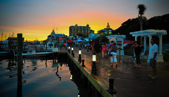 Destin Harbor Boardwalk