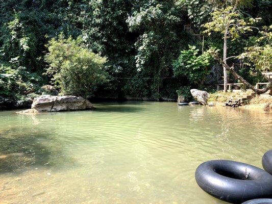 Tham Nam Water Cave