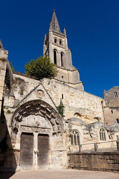 Monolithic Church of Saint-Emilion
