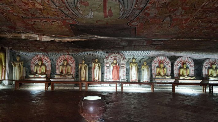 Dambulla Royal Cave Temple