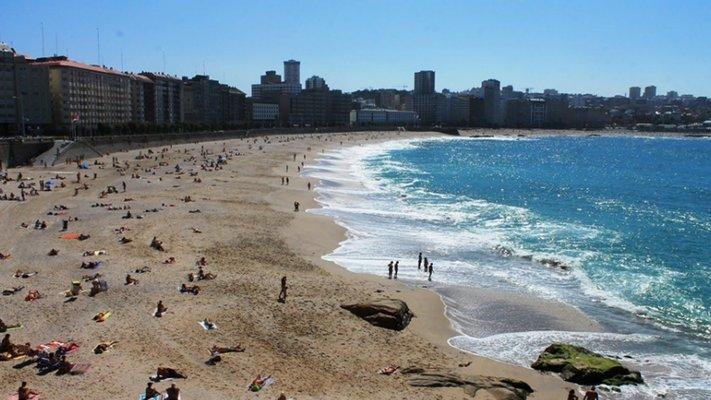 Praia de Riazor (A Coruña)