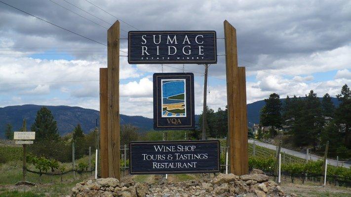 Sumac Ridge Estate Winery Ltd