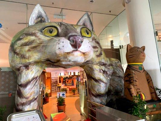 Cat Museum, Petra Jaya, Sarawak.