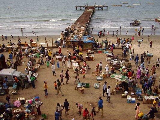 Bakau fish market