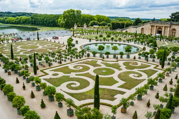 Gardens of the palace of Versailles
