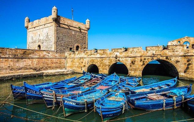 Tour Du Port D Essaouira