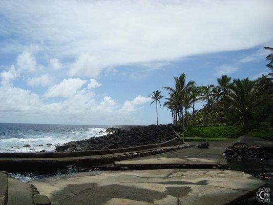 Ahalanui County Beach Park
