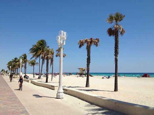 Hollywood Beach Broadwalk