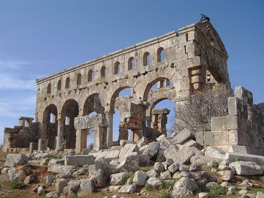 Byzantine Basilica - Palmyra