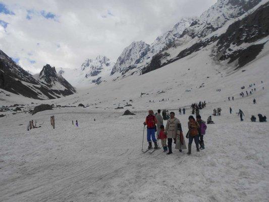 Thajiwas glacier, Sonmarg, Kashmir